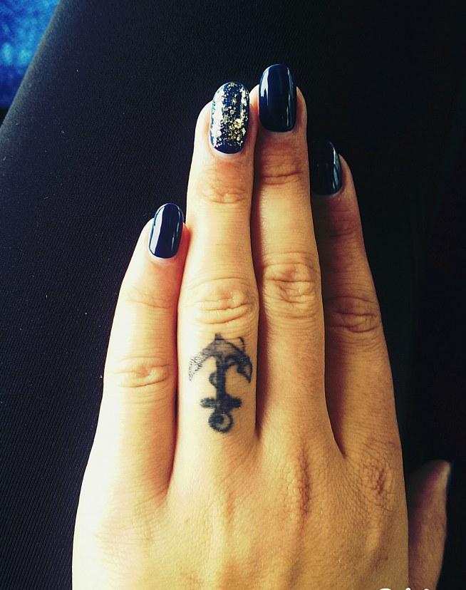 Mój Tatuaż Mój Talizman Nadzieja Bezpieczeństwo Wierność St