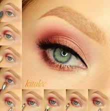Pinky Peach Video na moim kanale YT - kitulecmakeup a opis do tutorialu na blogu - kitulec beauty blog