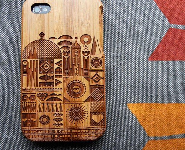 drewniany etui