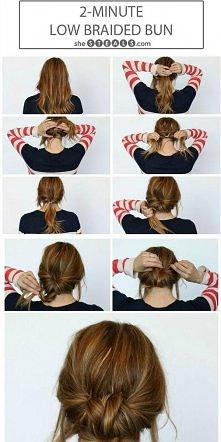 uwielbiam proste a wymyślne fryzurki :)