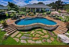 marzy mi się basen przy domku <3