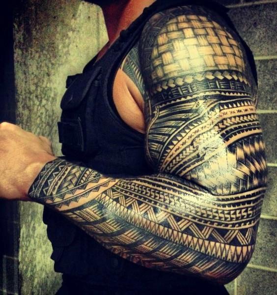 Tribal Tatuaż Na Ramieniu Na Tatuaże Zszywkapl
