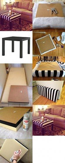 Ikea hack – stolik