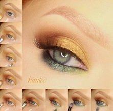 Kolejny kolorowy makijaż na zakończenie lata! Opis do tutorialu na blogu - kitulec beauty blog oraz film na kanale - kitulecmakeup