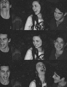 Alison, Scott i Stiles :3