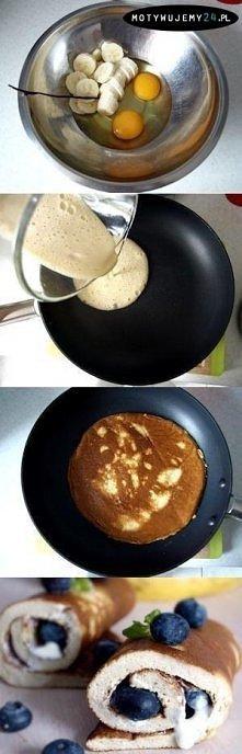 Smacznie i zdrowo. Świetny pomysł na śniadanie :)
