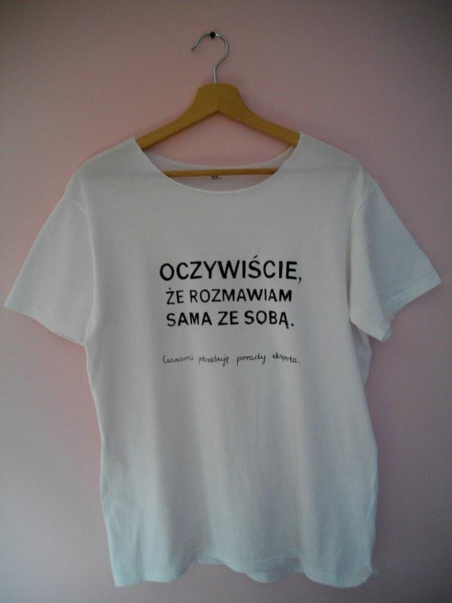 d7911f812 Ręcznie malowana koszulka. Napis wykonałam w całości samodzieln.. na ...