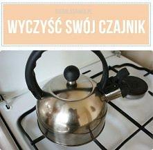 Najlepsza metoda na wyczyszczenie czajnika