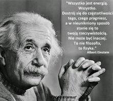 wszystko jest energią