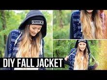 DIY Fall Jacket (Shirt Upcycle!) | LaurDIY