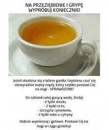 mikstura na przeziębienie i grypę