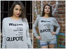 Ciepła bluza na jesień :)  Zapraszam na facebook na ilcia.pl
