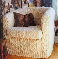 Wydziergany fotel :)