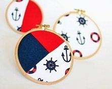 cudna dekoracja w marynarskim stylu.