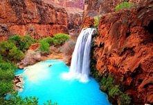 Wodospad Havasu w Wielkim Kanionie, Arizona, USA