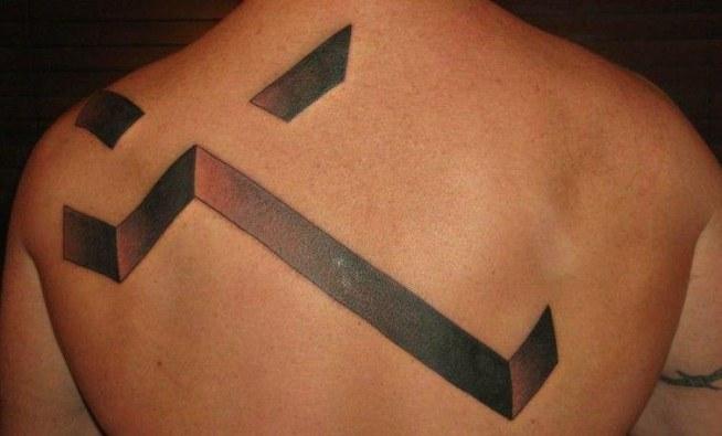 Krzyż Na Plecach Na Tatuaże Zszywkapl