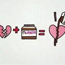 Nutella - lek na wszystko <3 XD
