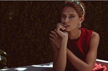 Włoska piękność w Dolce & Gabbana, czyli Bianca Balti w cover story Emira...