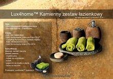 Kolekcja Produktów z kamienia rzecznego od Lux4home™. Z kamienia polnego wykonujemy w kompletach: Wanny, brodziki, umywalki stojące, umywalki nablatowe, zestawy na kosmetyki - n...