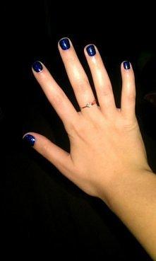 moje paznokcie hybrydowe :)...