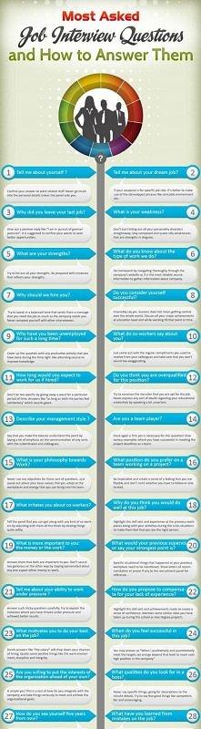 Najczęściej pojawiające się pytania na rozmowie o pracę i jak na nie odpowied...
