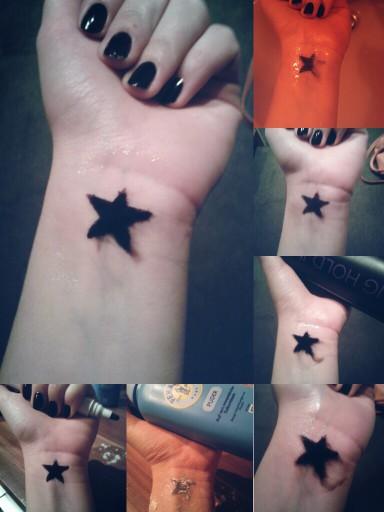 Jak Zrobić Zmywalny Tatuaż 1namaluj Wzorek Markerem