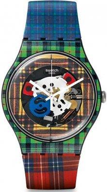 Zegarek Swatch z ciekawym w...