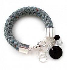 Rope bracelet / szary