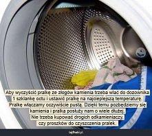 Jak usunąć kamień z pralki?