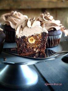 Babeczki Ferrero Rocher, przepis po kliknięciu na zdjęcie :)