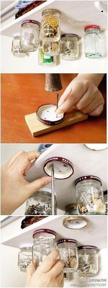 fajny pomysł, można w kuchni np tak zrobić i przyprawy trzymać.