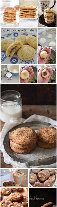 Łatwe ciastka SNICKERDOODLE...