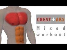 Ćwiczenia mieszane: Mięśnie klatki piersiowej i brzucha