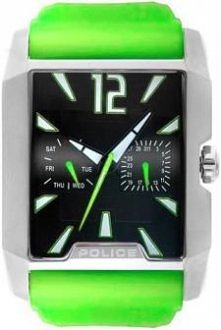 Zielony kolor nie jest czymś zwyczajnym w zegarku. Dlatego warto zwrócić uwagę na ten model od marki Police.