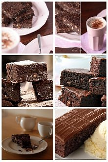 Ciasto bez mąki Nigelii  SKŁADNIKI:  225 g gorzkiej czekolady 225 g masła 2 łyżeczki ekstraktu waniliowego 200 g drobnego cukru 3 jajka 150 g mielonych migdałów 100 g posiekanyc...