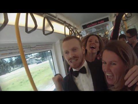 Perth Train Party Video 2014!!! wiadomo gdzie ... Australia <3