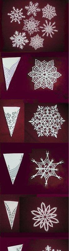i jeszcze trochę wzorów na śnieżki