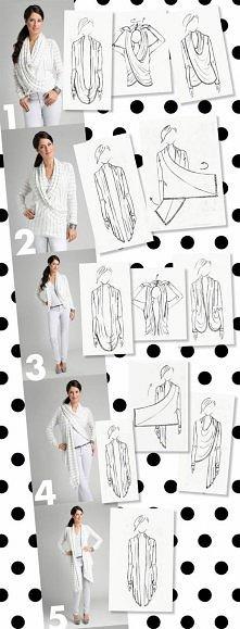 5 sposobów na noszenie kardigana