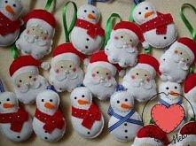 Święta tuż tuż :) Przyjmuję zamówienia na ozdoby świąteczne z filcu :) Zapraszam na mojego bloga - kliknij w zdjęcie :)