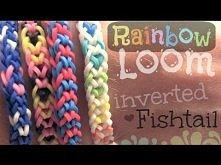 Rainbow loom fishtail