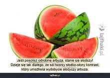 Słodszy arbuz