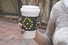 Duct Tape Coffee Sleeve