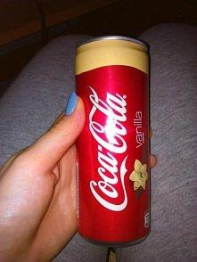 Coca Cola Waniliowa. Jak dla mnie za bardzo słodka ;-)