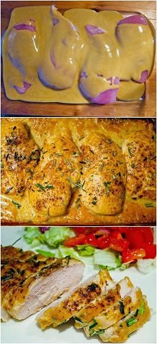 Kurczak z musztardą Dijon