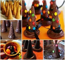 Chocolate Witches Hat