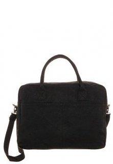 Czarna torba na laptopa. Wi...