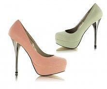 Co myślicie o takich butach na platformie? Ja chyba nie umiałabym na nich cho...