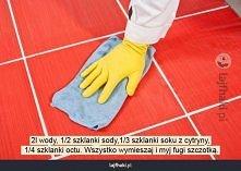 Jak czyścić białe fugi?