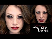 The Vampire Diaries: Halloween Makeup