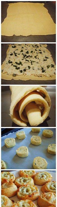 Serowe ślimaczki